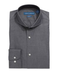 Vince Camuto - Gray Modern Fit Dress Shirt for Men - Lyst