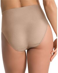 Spanx - Natural Everyday Shaping Briefs - Lyst