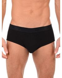 2xist - Black Pima Cotton Contour Pouch Briefs for Men - Lyst