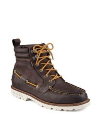 Sperry Top-Sider | Brown A O Leather Lug Boot for Men | Lyst