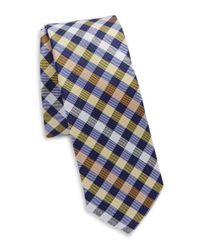 Original Penguin | Yellow Silk Plaid Tie for Men | Lyst