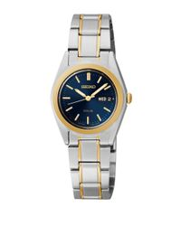 Seiko - Metallic Functional Solar Two-tone Stainless Steel Blue Dial Watch - Lyst