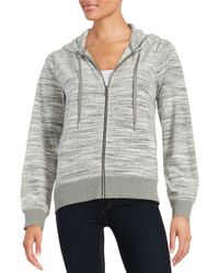 Calvin Klein | Multicolor Space-dyed Velour Hoodie | Lyst