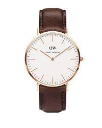 Daniel Wellington | Brown Classic Bristol Leather Strap Watch | Lyst