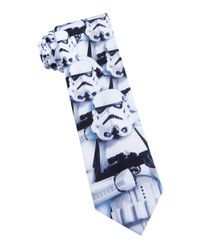 Star Wars | Blue Storm Trooper Tie for Men | Lyst