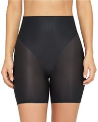 Yummie By Heather Thomson | Black Ultra-sheer Shaping Audra Shorts | Lyst