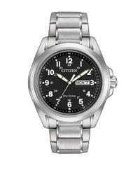 Citizen - Metallic Eco-drive Sport Silvertone Stainless Steel Bracelet Watch for Men - Lyst