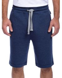 2xist - Blue Terry Shorts for Men - Lyst