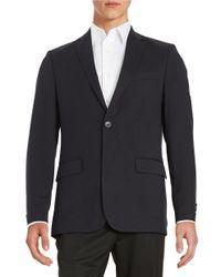 Calvin Klein | Blue Slim-fit Suit Jacket for Men | Lyst