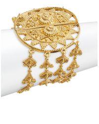 Oscar de la Renta | Metallic Goldtone Sun Layered Bracelet | Lyst