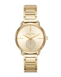 Michael Kors   Metallic Portia Chronograph Bracelet Watch   Lyst