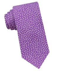 Ted Baker | Purple Dotted Silk-blend Tie for Men | Lyst