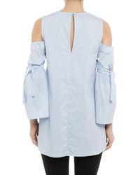 Bardot | Blue Alice Cold-shoulder Tunic | Lyst