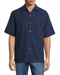 Tommy Bahama | Blue Noivado Beach Embroidered Sportshirt for Men | Lyst