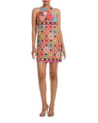 Trina Turk | Red Haute Havana Vavaciones Halter Dress | Lyst