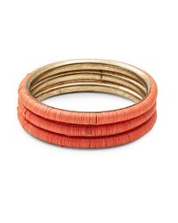 Lord & Taylor | Multicolor Assorted Bangles-set Of 3 | Lyst