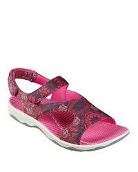 Easy Spirit | Multicolor Yogala Sport Sandals | Lyst