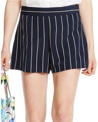 Polo Ralph Lauren | Blue Striped Silk Short | Lyst