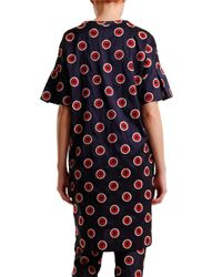 Nikki Chasin | Blue Joli Silk Dot Tunic Dress | Lyst