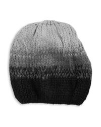 Wooden Ships | Black Ombre Wool-blend Knit Hat | Lyst