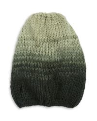 Wooden Ships | Green Ombre Wool-blend Knit Hat | Lyst