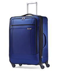 Samsonite | Blue Solyte Spinner Suitcase | Lyst