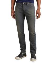 John Varvatos | Blue Hand Sanded Distressed Wight Jeans for Men | Lyst
