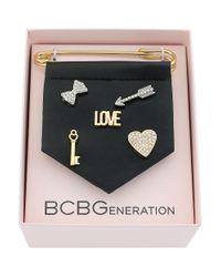 BCBGeneration | Metallic For Pins Sake Love Bracelet Charm | Lyst