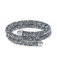 Swarovski | Metallic Crystaldust Wrap Bracelet | Lyst