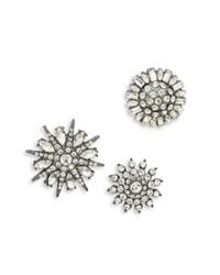 Lord & Taylor | Multicolor Stone-accented Starburst Pin Set | Lyst