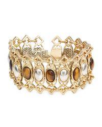House of Harlow 1960 | Metallic Lady Grace Statement Bracelet | Lyst