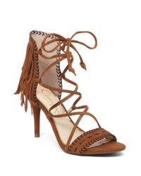 Jessica Simpson | Brown Mareya Suede Gladiator Sandals | Lyst