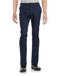 Lacoste | Blue Sport Golf Technical Gabardine Pants for Men | Lyst