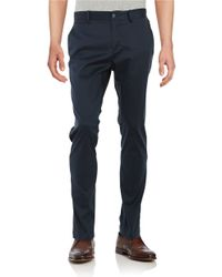 Original Penguin | Blue P55 Slim Fit Stretch Chino for Men | Lyst