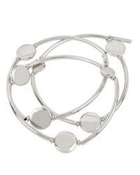 Kenneth Cole | Metallic Circle Stretch Bracelet Set | Lyst