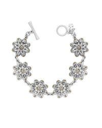 Lucky Brand | Metallic Flower Bracelet | Lyst