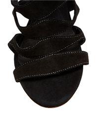 Steve Madden | Black Vendetaa Block Heeled Sandals | Lyst