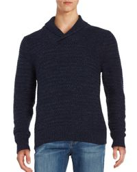 Tommy Bahama | Blue Textured Cotton-blend Sweater for Men | Lyst