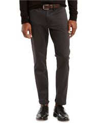 Levi's | Black 541 Athletic-fit Twill Pants for Men | Lyst