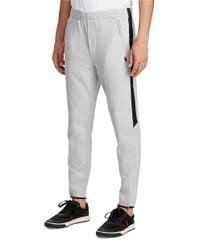 Polo Ralph Lauren | Gray Cotton Interlock Athletic Pants for Men | Lyst