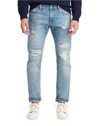 Polo Ralph Lauren | Blue Varick Slim-fit Straight-leg Jeans for Men | Lyst