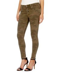 Lucky Brand | Green Camo Brooke Legging Jeans | Lyst