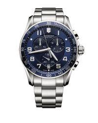 Victorinox | Metallic Mens Chronograph Classic Xls Watch for Men | Lyst
