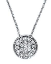 Effy | Metallic Diamond And 14k White Gold Pendant Necklace | Lyst