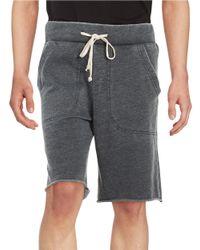 Alternative Apparel   Black Victory Knit Shorts for Men   Lyst