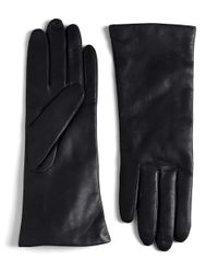 Lord & Taylor | Black Leather Gloves | Lyst