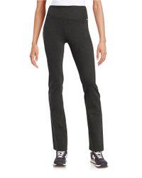 Calvin Klein | Black Stretch Knit Pants | Lyst