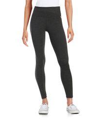 Calvin Klein   Black Stretch Knit Leggings   Lyst
