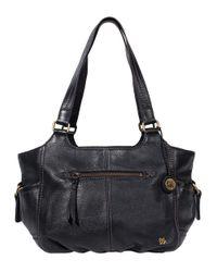 The Sak | Black Kendra Leather Satchel | Lyst