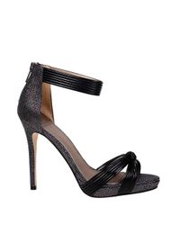 Belle By Badgley Mischka | Black Ignatious Open-toe Sandals | Lyst